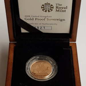 2008 Gold Proof Sovereign