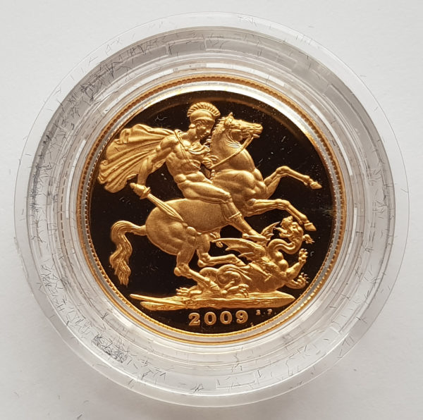 2009 Gold Proof Sovereign 1