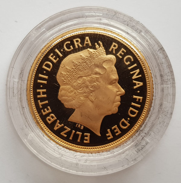 2009 Gold Proof Sovereign 2