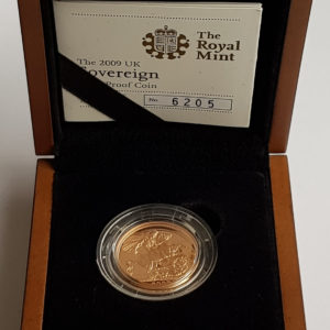 2009 Gold Proof Sovereign
