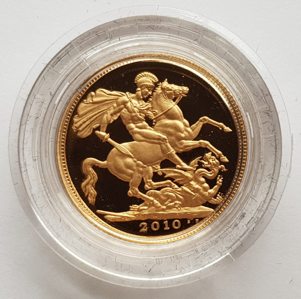 2010 Gold Proof Sovereign 1