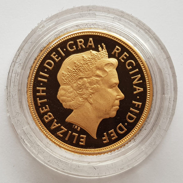 2010 Gold Proof Sovereign 2