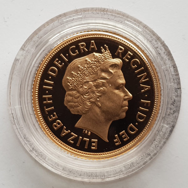 2011 Gold Proof Sovereign 2