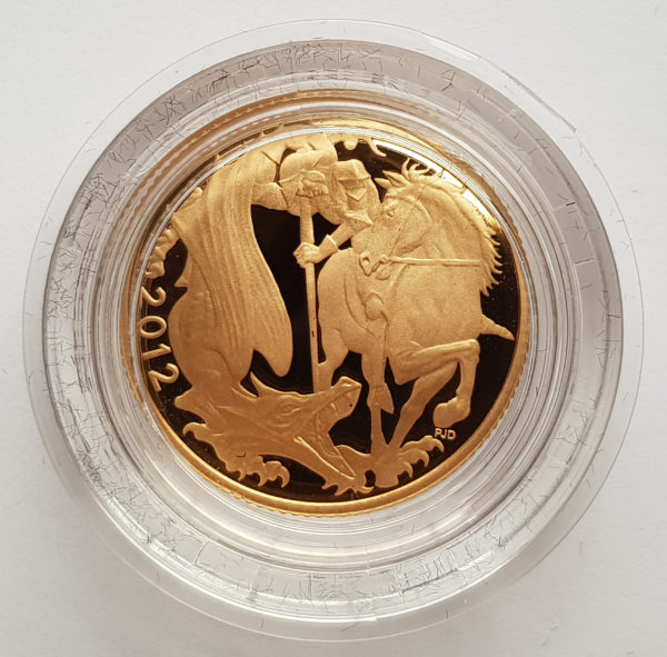 2012 Gold Proof Sovereign 1