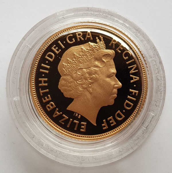 2012 Gold Proof Sovereign 2