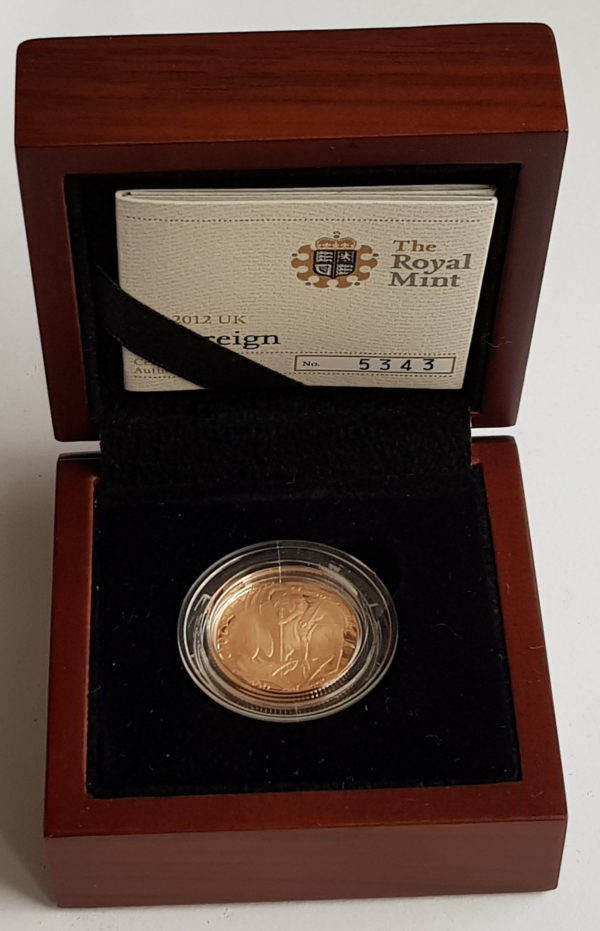 2012 Gold Proof Sovereign
