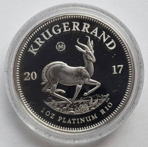 2017 Platnum Proof 1oz Krugerrand