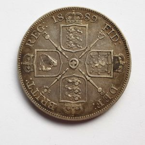 1889 Queen Victoria Silver Crown