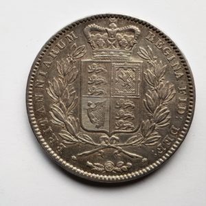 1845 Queen Victoria Silver Crown