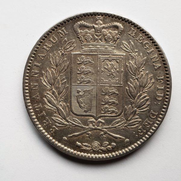 1845 Queen Victoria Silver Crown