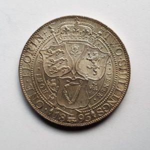 1893 Queen Victoria Silver Florin