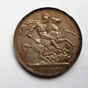 1893 Queen Victoria Silver Crown
