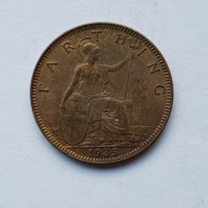 1935 King George V Farthing