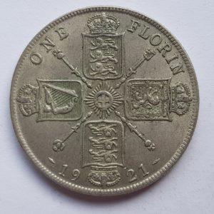 1921 King George V Florin