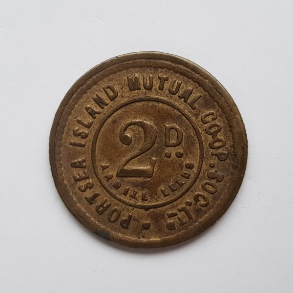 Portsea Co-op Two Penny Token