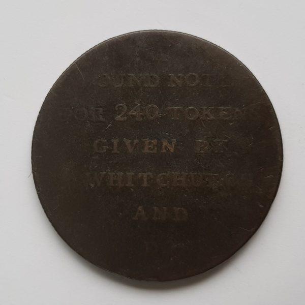 1811 Bath Penny Token