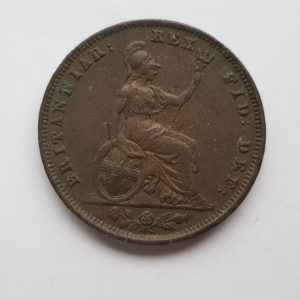 1834 King William IV Farthing
