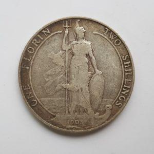 1903 King Edward VII Silver Florin
