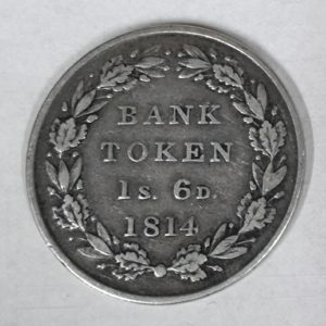 1814 King George III Silver Bank Token
