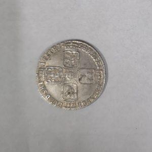 1758 King George II Silver Shilling