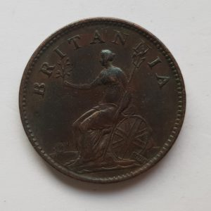 1806 King George III Farthing