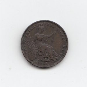 1821 King George III Farthing