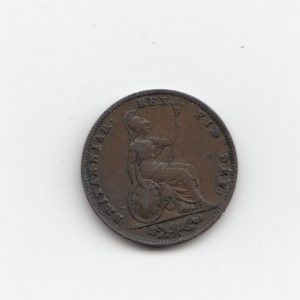 1835 King George Farthing