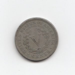 1893 United States Five Cents