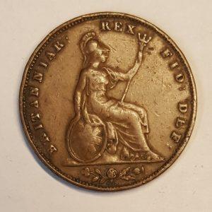 1835 King William IV Farthing