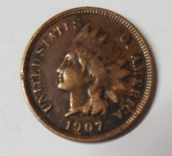 1907 United States One Cent