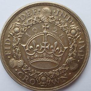 1928 King George V Silver Wreath Crown
