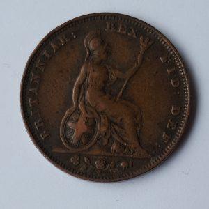 1826 King George IV Farthing