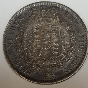 1817 King William III Silver Half Crown