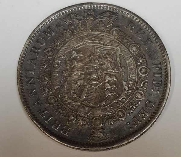 1817 King William III Silver Half Crown