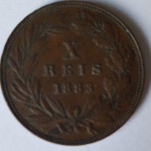 1883 Portugal 10 Reis