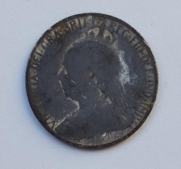 1901 Cyprus Piastres