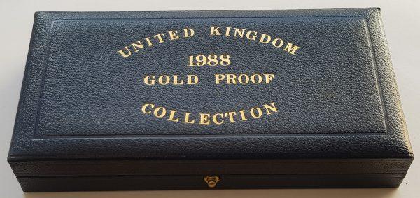 1988 3 Coin Sovereign Set