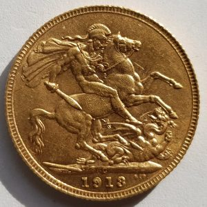 1913 Canadian Sovereign