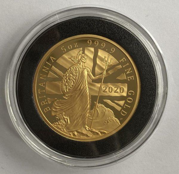 2020 5 Ounce Gold Proof Britannia