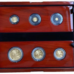 2020 6 Coin Gold Proof Britannia Set