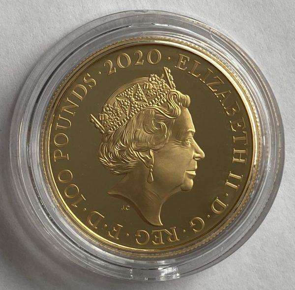 Queen Gold 1 Ounce