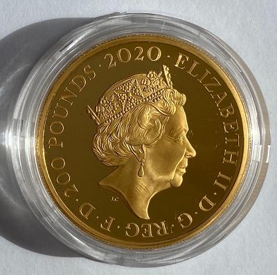 2020 James Bond Gold Proof 2 Ounce