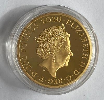 2020 Queen Gold Proof Two Ounce £200