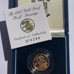 1997 Half Sovereign