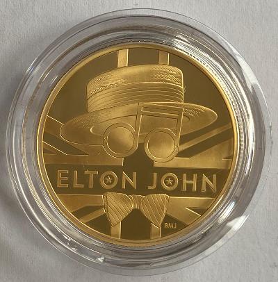 2020 Elton John Gold Proof One Ounce