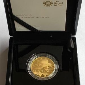2020 Elton John Gold Proof One Ounce