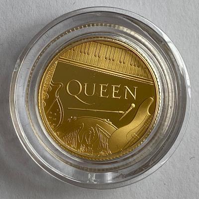 2020 Queen Gold Proof Quarter Ounce