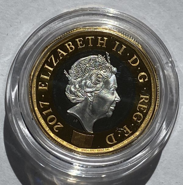 2017 Nations of the Crown Platinum Proof One Pound Piece