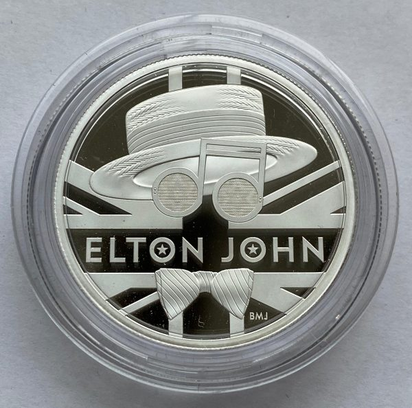2020 Elton John Silver Proof Two Ounce