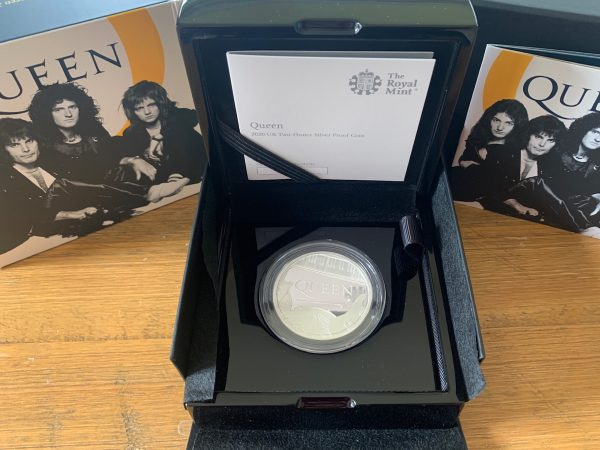 2020 Queen Silver Proof Two Ounce